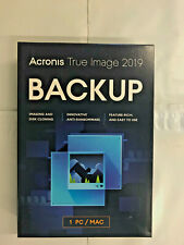 Acronis True Image 2019 1 Computer PC MAC NEW!