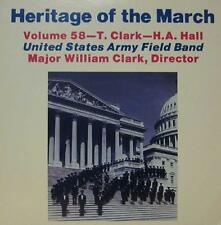 United States Army Field Band (VINYL LP) Heritage of the Mars: Volume 58-Ex/Presque comme neuf