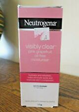 New! Neutrogena VISIBLY CLEAR Pink Grapefruit Oil-Free Moisturizer 50ml  (8226)