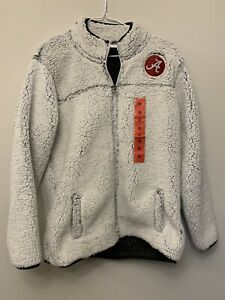NWT Champion Alabama NCAA Sherpa Jacket, Womens Medium