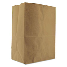 General 1/8 BBL Paper Grocery Bag 52lb Kraft Standard 10 1/8 x 6 3/4 x14 3/8 500