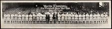 1921 Cleveland Indians World Champions Baseball Team Photo Panoramic Photograph