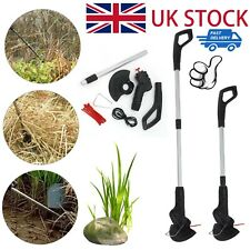 More details for electric cordless garden grass trimmer rechargeable weed strimmer cutter set uk