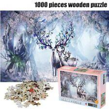DIY Jigsaw Puzzle 1000 Pieces Castle Night Puzzle Adult Kids Educational Toys US