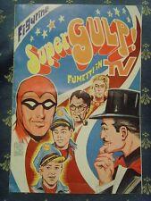 Album figurine vuoto: SuperGulp! Fumetti in TV. Piegatura in centro