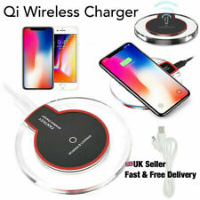 Fast Qi Wireless Charger Charging Pad Samsung Apple iPhone Huawei Universal