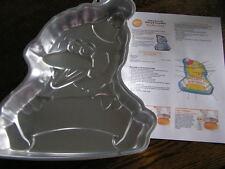 Wilton BIG BIRD w/ Hat &  Banner Cake Pan Mold #2105-3654 w/ Instructions