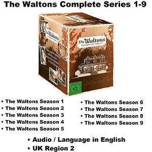 The Waltons Complete Series 1-9 Seasons 1 2 3 4 5 6 7 8 9 Box Set [58 DVD] R2 UK