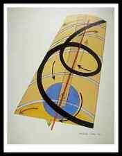 Moholy Nagy cinetica-sistema costruttivo poster stampa d'arte nel quadro 90x70cm