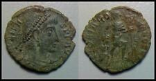 ANCIENT ROMAN COIN RESTORED (Valens) + FREE GIFT POUCH