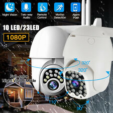 1080P 10/23 LED WIFI IP CCTV Security Camera Wireless Outdoor HD Home PTZ IR Cam