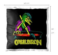 Halloween ZX Spectrum Next 48k Loading Screen Cushion Pillow CAULDRON 40X40CM