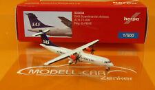 Herpa Wings 533034 SAS Scandinavian Airlines ATR-72-600 Scale 1:500 NEU OVP
