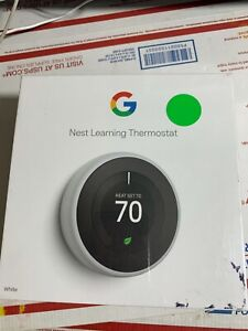 Google Model:A0013 /T3017USNest 3rd Gen Learning Thermostat White