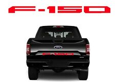 Gloss Red Vinyl Tailgate Decals Inserts For 2018 Ford F150 New Free Shipping USA