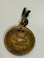 WW2 Trench Art Royal Navy Double Button Pendant