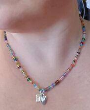 Charm Tibetan Silver Beaded Costume Necklaces & Pendants