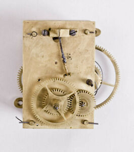 American weight driven banjo clock movement only @ 1810 Original Excellent