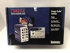 Lexicon Omega Desktop Recording Studio - Mixer, Reverb Plug-in, Software - New