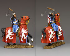 KING & COUNTRY MEDIEVAL KNIGHTS & SARACENS MK184 SIR WILLIAM WALLACE MOUNTED MIB