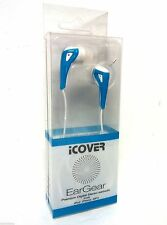 iCover EarGear Premium Digital Stereo Earbuds IP-400 White Color for iPod iPhone