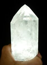 Quartz Crystal Polished Point 260 grams Reiki Display