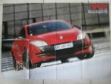 POSTER RENAULT MEGANE RS  & 82 x 58 cm &