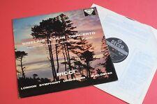 SXL 2077 Sibelius Violin Concerto Ruggiero Ricci LS Fjeldstad DECCA UK WB STEREO