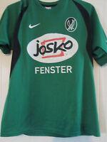 SV Ried 2009-2010 Match worn Home Football Shirt Size Medium /40576 trikot