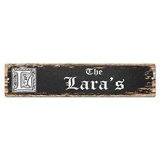 SPFN0501 The LARA'S Family Name Street Chic Sign Home Decor Gift Ideas