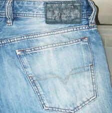 *HOT AUTHENTIC Men's DIESEL @ WAYKEE Art 0RBRT STRAIGHT LEG Denim Jeans 34 x 32