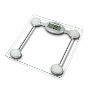 Salter Glass Electronic Digital Clear Bathroom Scales 9018S - Open Marked Box