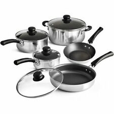 Classic Nonstick 9-Piece Pots And Pans Cookware Set