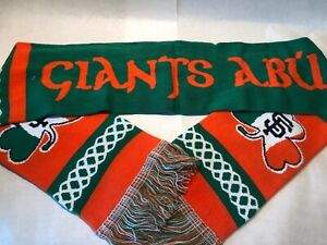 San Francisco Giants St Patrick's Day Promotional Scarf New In Package