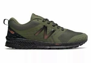 New Balance Nitrel V1 FuelCore Trail Hiking Running Shoe Dark Green Sz 12 NEW