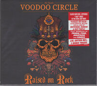 Voodoo Circle 2018 CD - Raised On Rock +2 (Ltd. Digi.) Primal Fear/Whitesnake