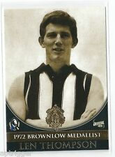 Collingwood 1972 Brownlow Medallist (48) LEN THOMPSON