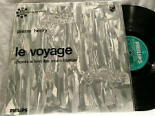 PIERRE HENRY Le Voyage Morts Tibetain French Philips LP
