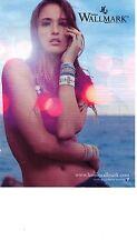 PUBLICITE PM  2012  HANNA WALLMARK bijoux bracelets suédois