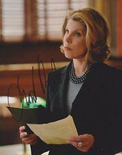 Christine Baranski Signed The Good Wife 10x8 Photo AFTAL