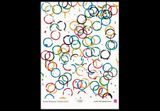 LONDON 2012 Summer Olympics Official IOC Museum POSTER Reprint -Rachel Whiteread