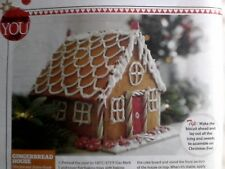 Recipe instructions for making a Gingerbread House