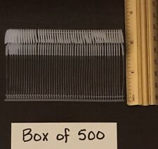 "500 Clear Hook 2"" - 2.5� Price Tag Tagging Barbs Fasteners Fast Free Shipping"