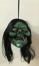 "4"" Shrunken Witch Monster Head Halloween Prop"
