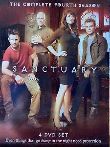 Sanctuary: The Complete Fourth Season (DVD, 2012, 4-Disc Set)