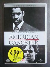 AMERICAN GANGSTER, de Ridley Scott, avec Russel Crowe & Denzel Washington - DVD