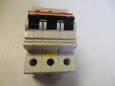 ABB CIRCUIT BREAKER S 263 B16 S263B16 16A 16 A AMP 3 POLE 400V