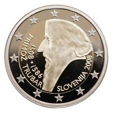 Slovenia 2008 - 2 Euro Comm - Primoz Trubar (UNC)