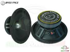 COPPIA Mid Woofer 25 cm BASS FACE 4Ω SPL10M.1.4S Medio bassi spl audio pro 4 ohm