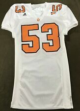 Sports Belle Tennessee Volunteers Authentic Adidas Football Jersey #53 Size 46